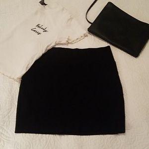 💕3/10$ Black mini skirt